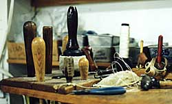 sailmakers bench and tools